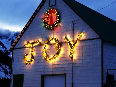 Joy on a building!